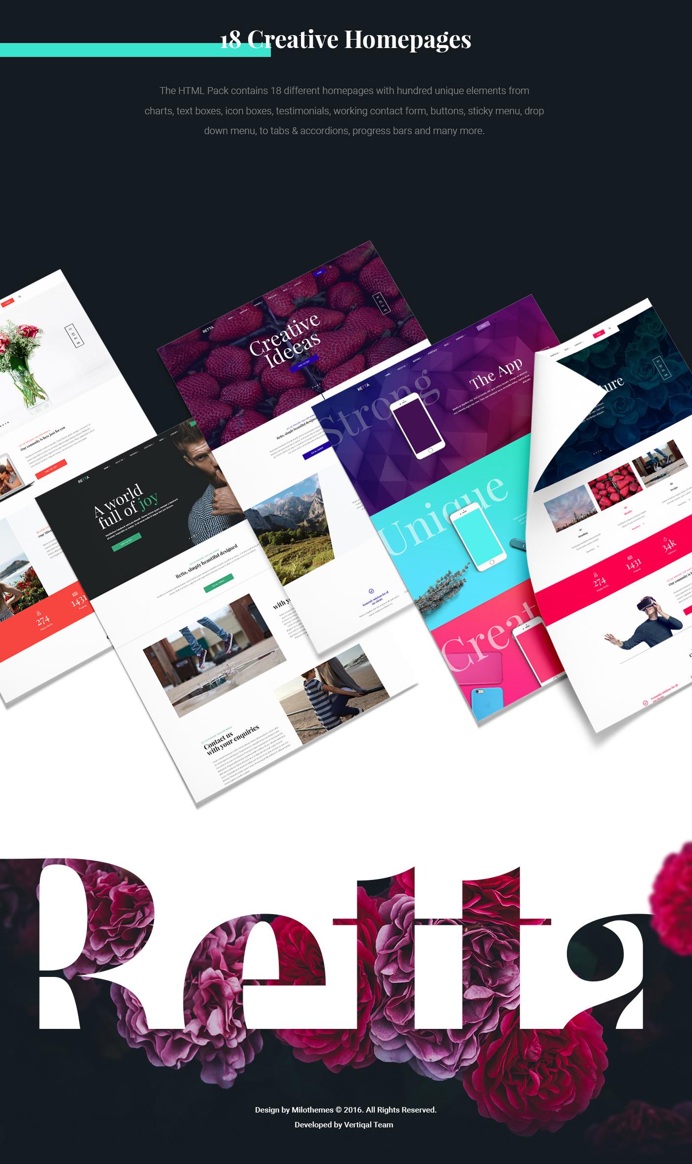html5 css3 template website template Business Website Creative Design sliders Blog modern website clean