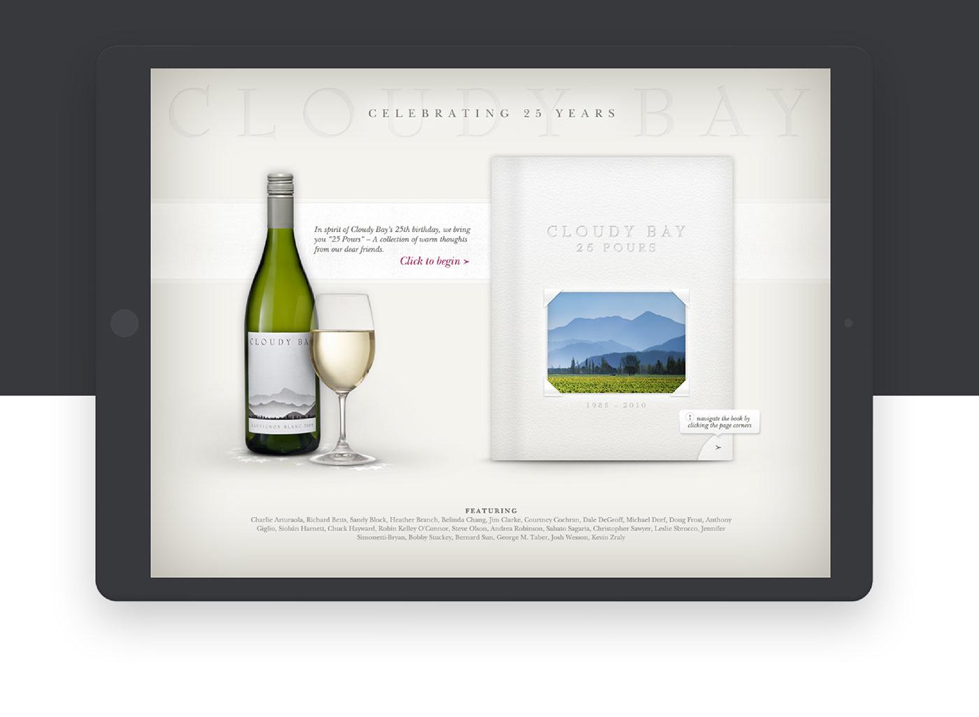 Cloudy bay wine moet hennessy interactive  SOCIAL MEDIA  FACEBOOK  media press