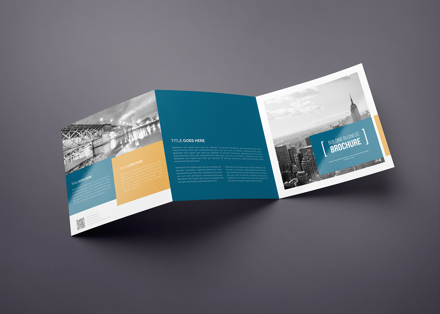 square trifold brochure 02 on behance