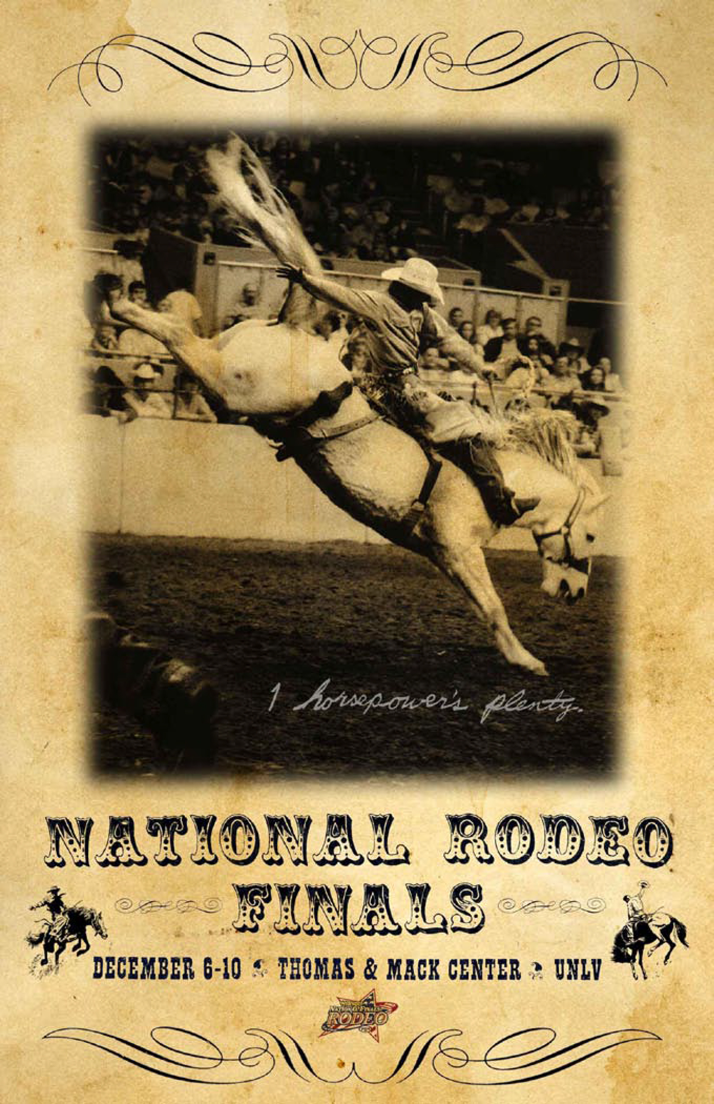 National Finals Rodeo Posters On Behance