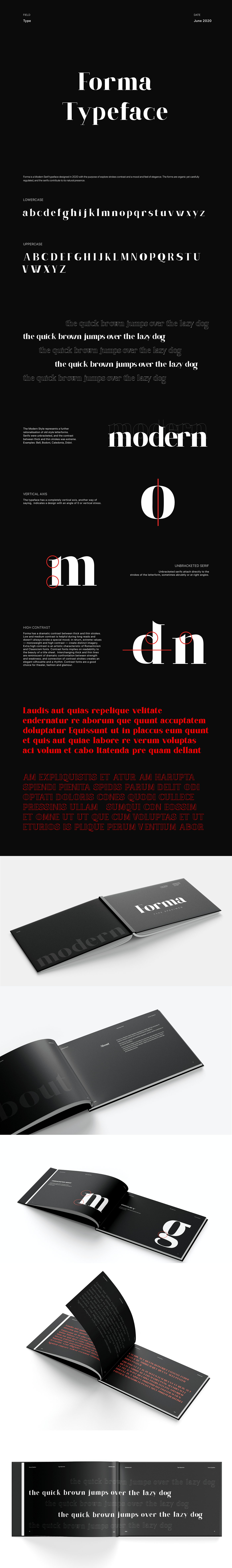 font modern serif tipografia type Typeface typography