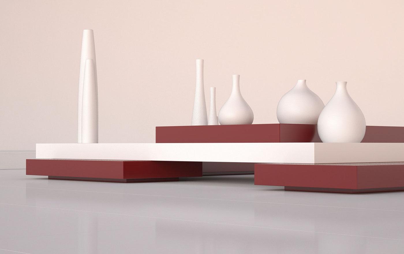 Platform Table On Behance