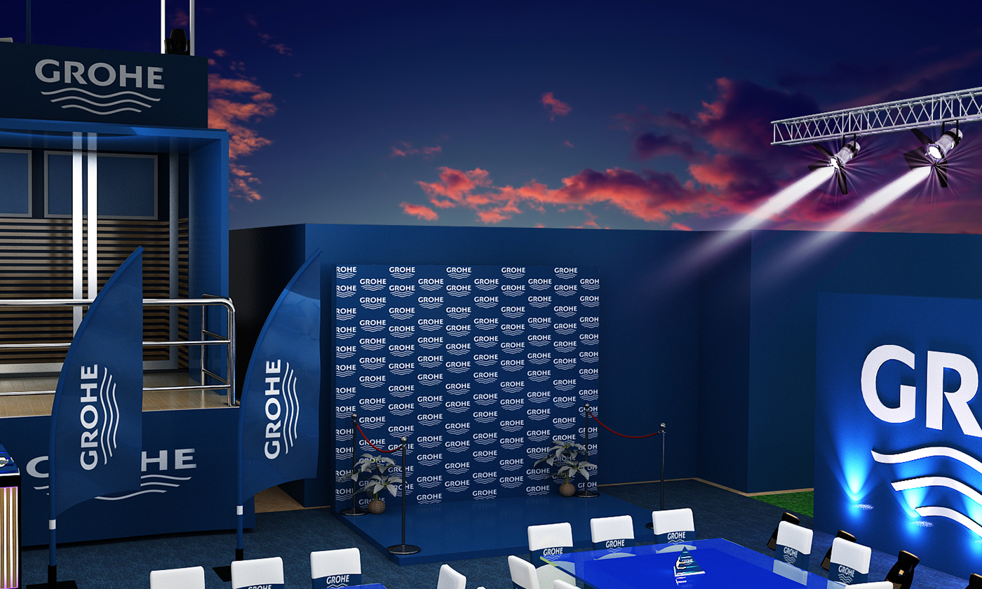 EVENT GROHE on Behance
