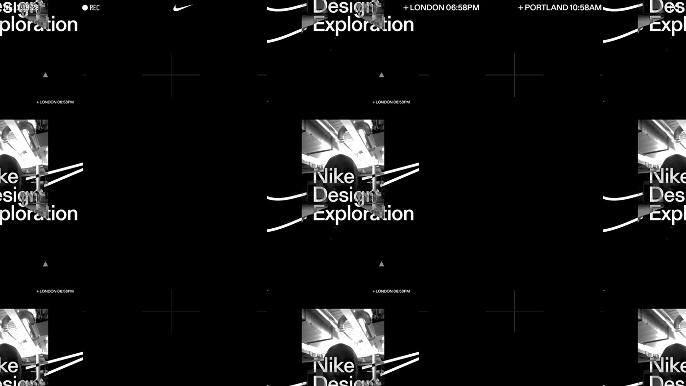 animation  graphic design  Kinetic Type motion Nike The New Company