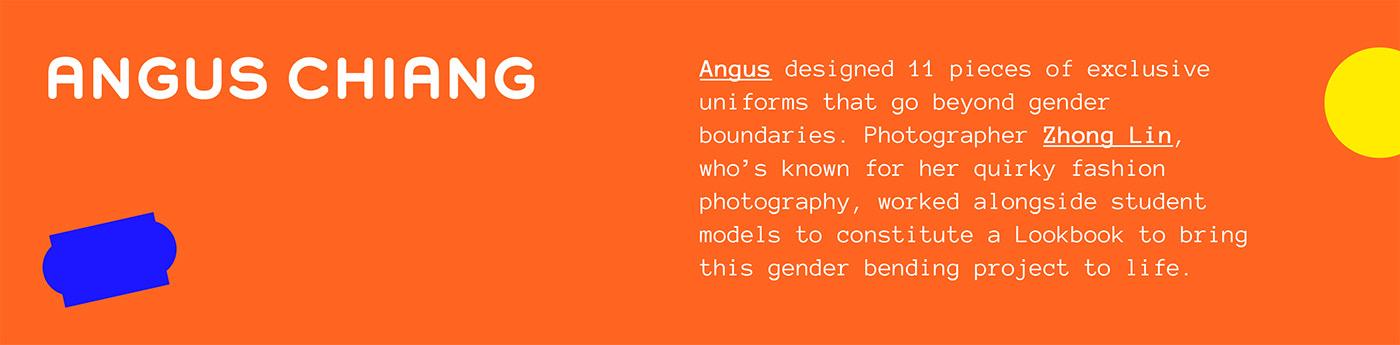 Gender gender neutral LGBTQ ogilvy school taipei uniform unisex vogue nonbinary