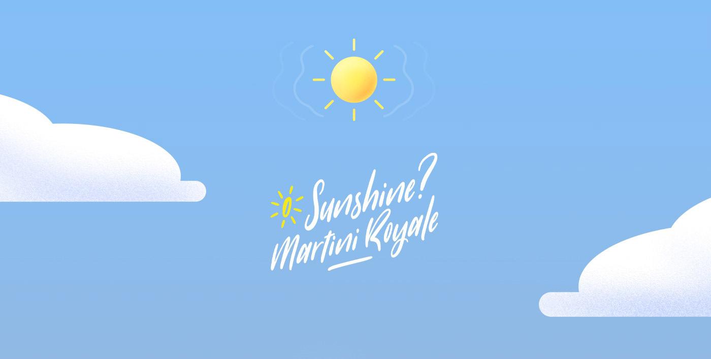 Sunshine? Martini Royale