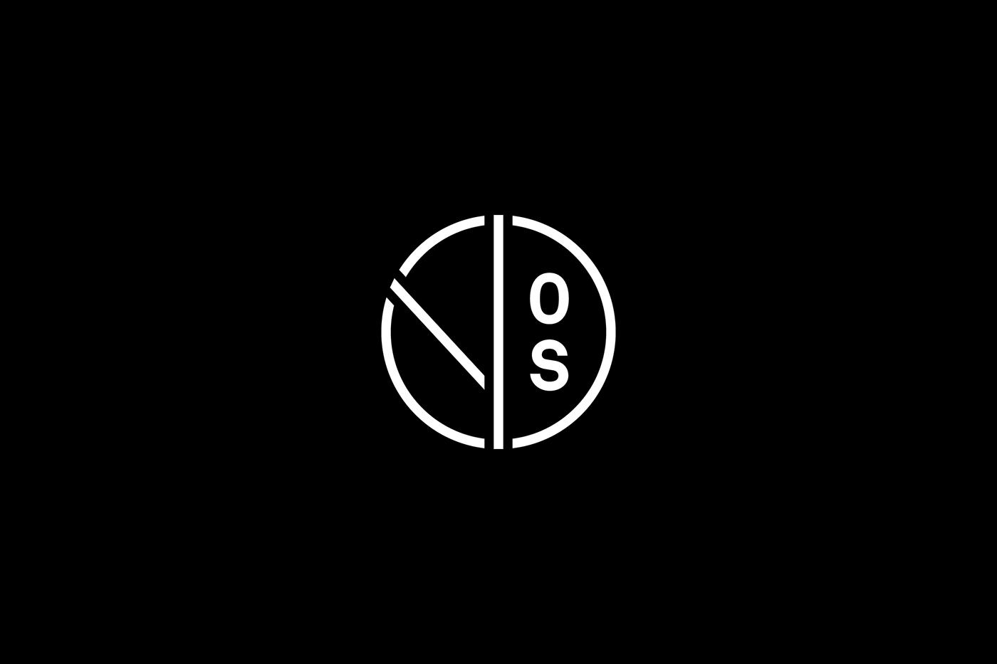 logos logo modern minimal circle symbol logopack type Custom lettering