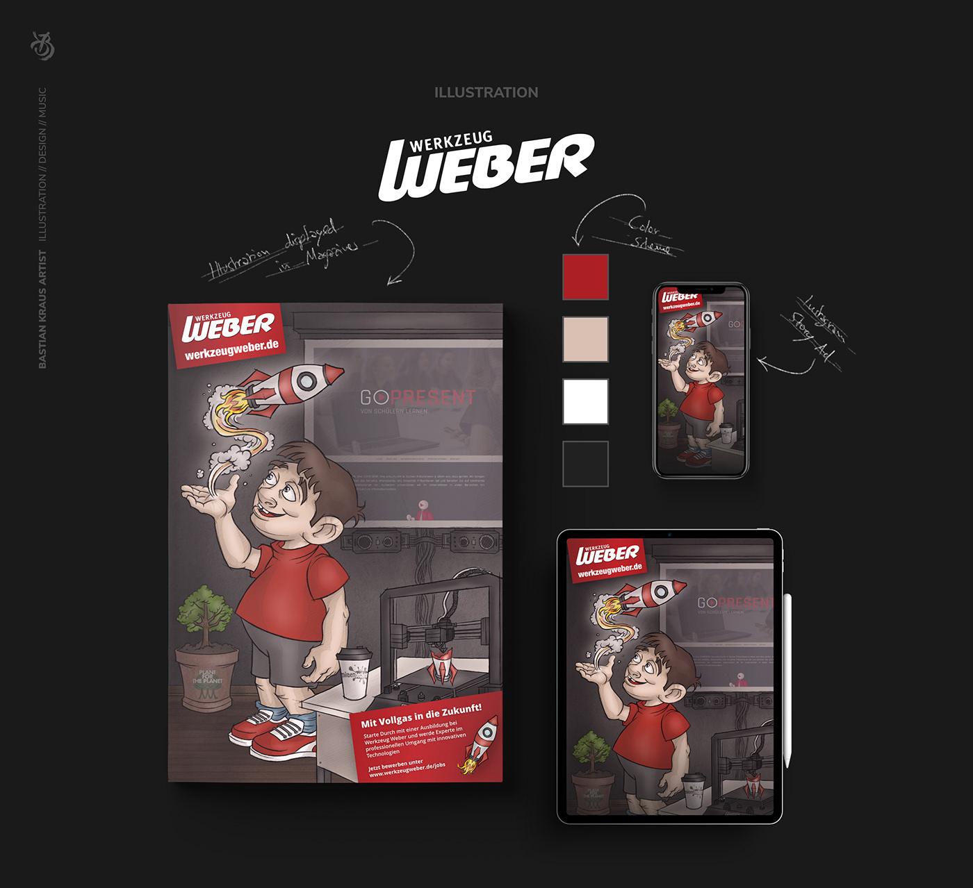 WERKZEUG WEBER // Overview