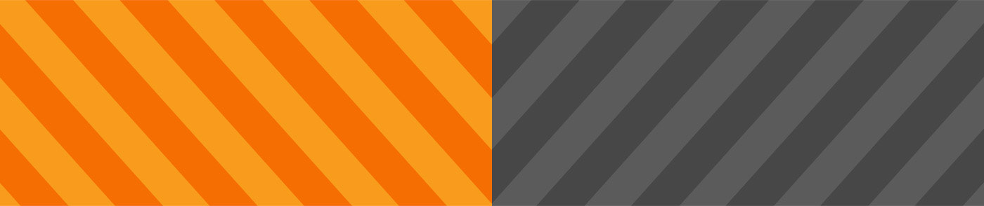 branding  brand logo Logo Design Brand Design orange grey stripes
