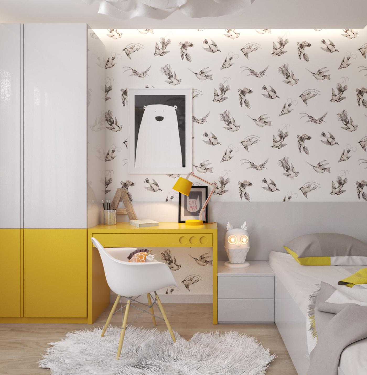 Une chambre d 39 enfant claire et pur e envie 2 deco for Decoration chambre epuree