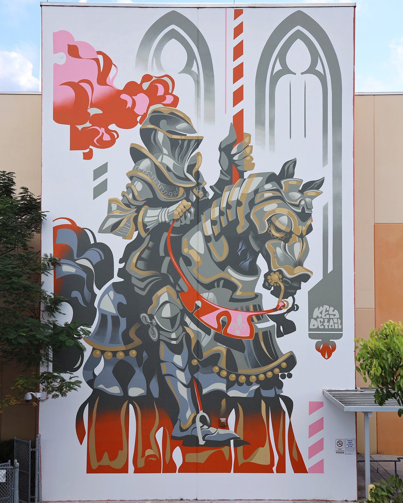 Image may contain: tree, cartoon and horse