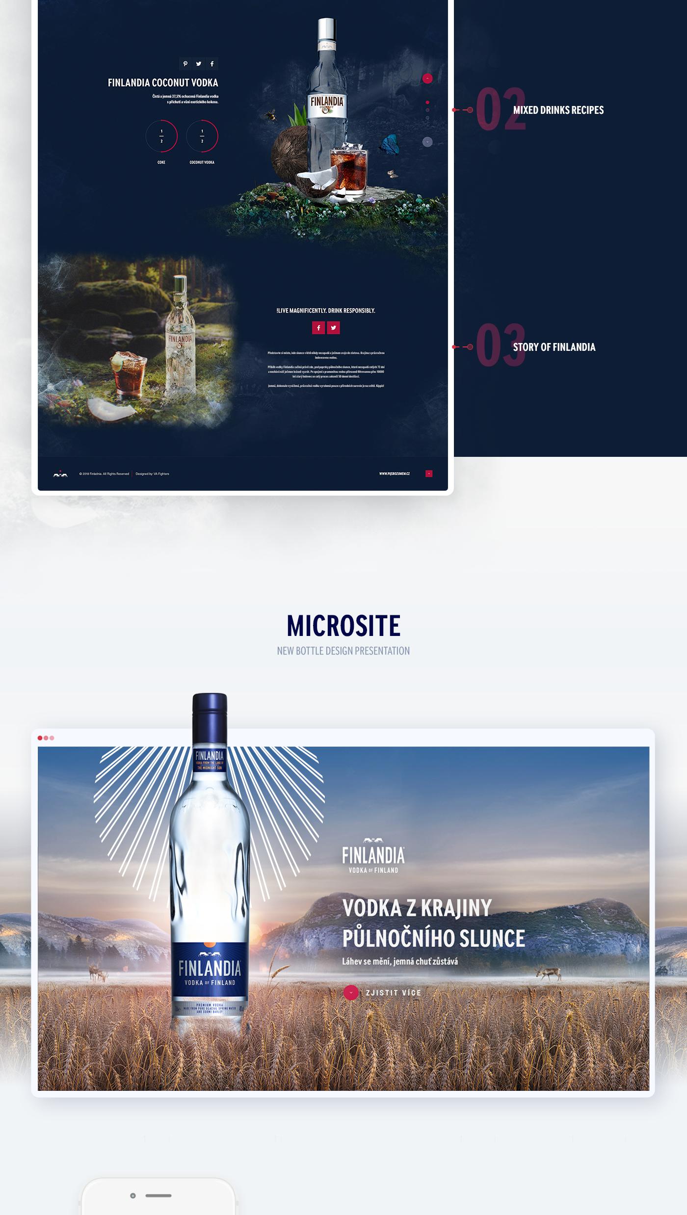 microsite web development  Webdesign Web Design  motion design social media campaign
