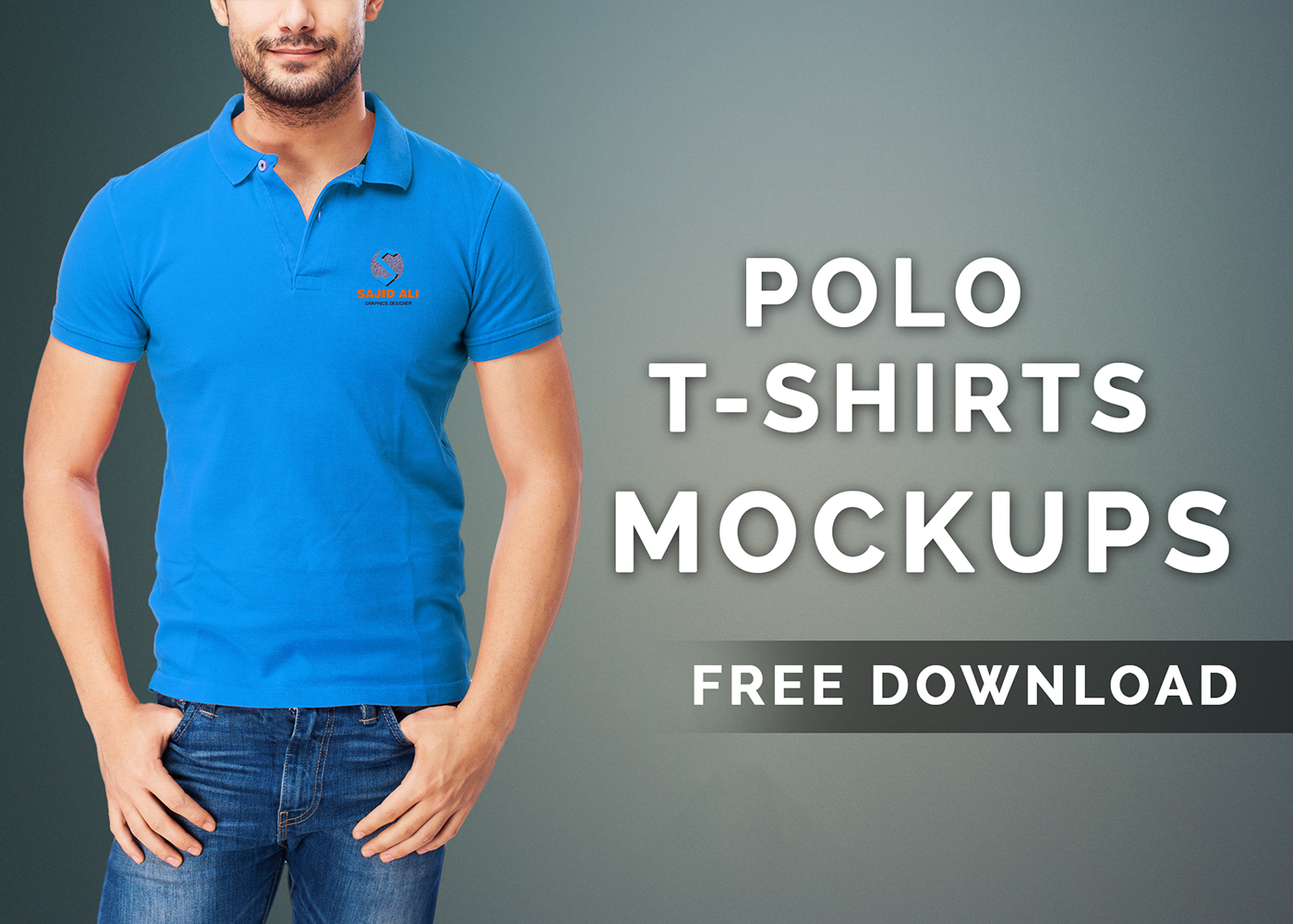 Polo t shirts mock up free download on behance for Free polo shirt mockup