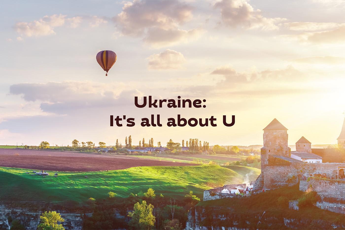 tourism region country brand identity font ukraine logo Logotype country brand