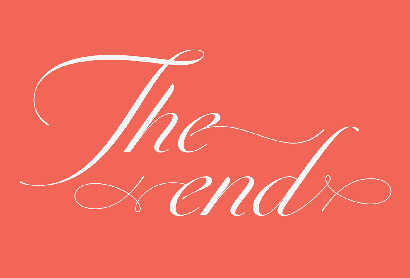 Script italic Swashes Typeface font DSType Pedro Leal