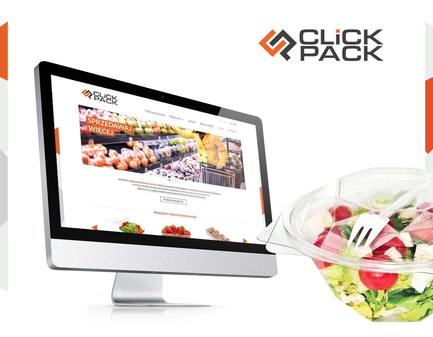 fresh salad Packaging