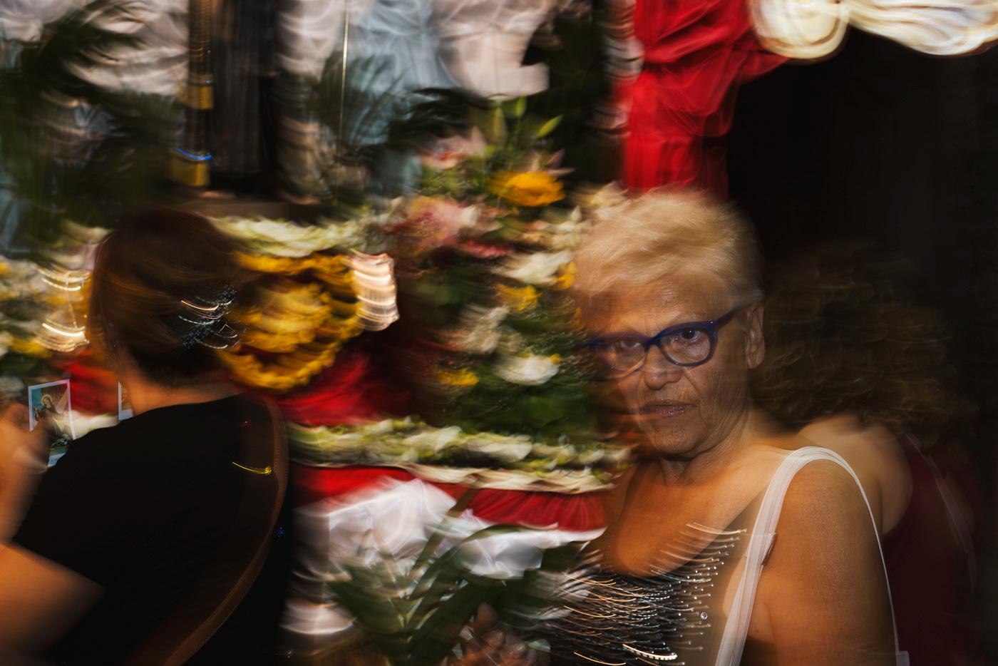 Santa Rosalia Palermo sicily festino santuzza street photography photograhy people festival culture