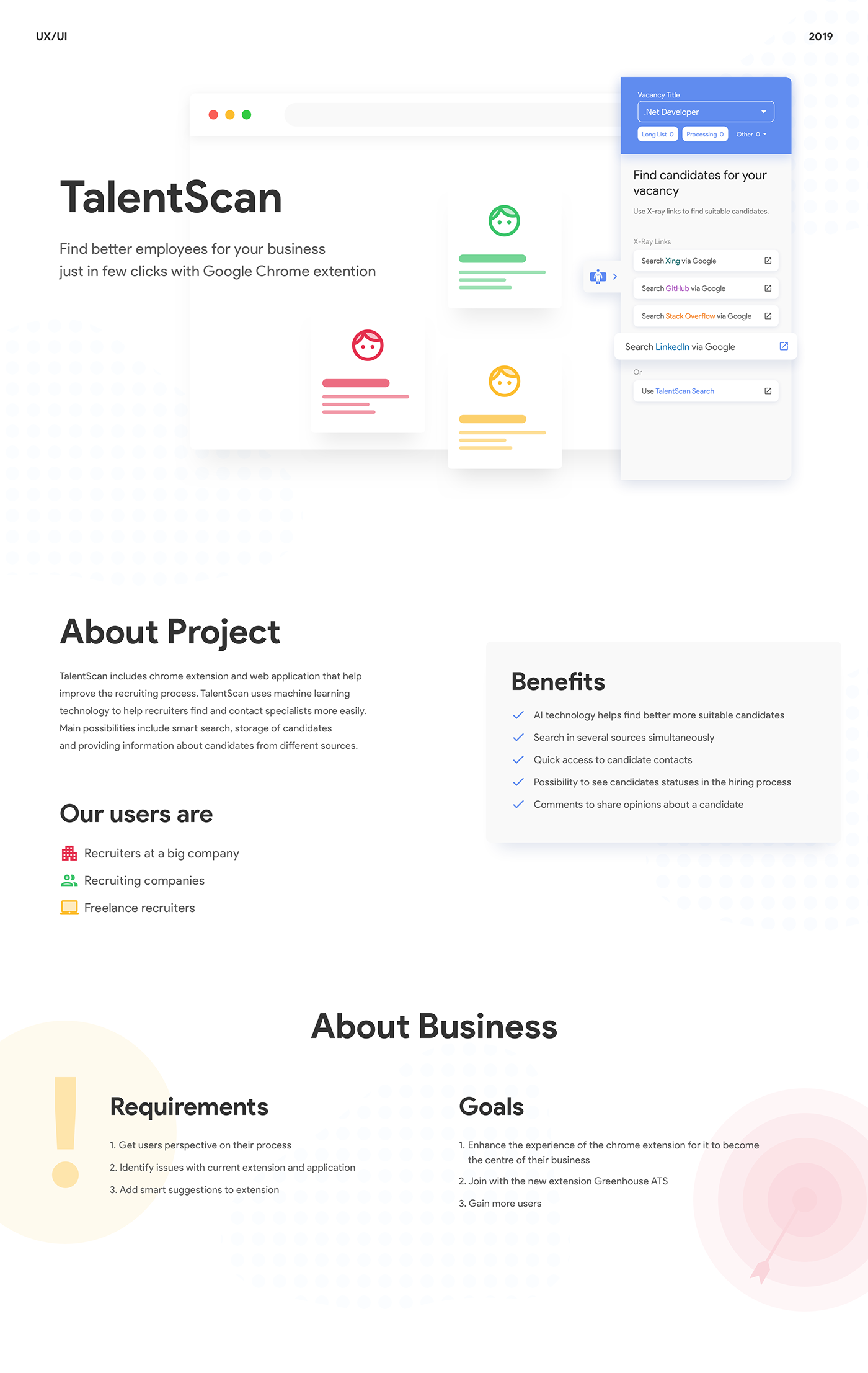 case Case Study chrome chrome extension material plug-in study UI/UX user experience ux/ui