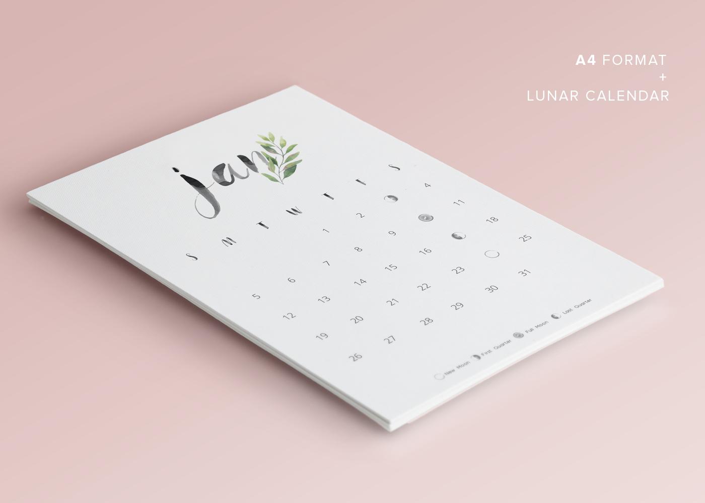 2020 calendar,calendar,calendario,Calendário Lunar,free,free download,freebie,lunar calendar,watercolor,printable