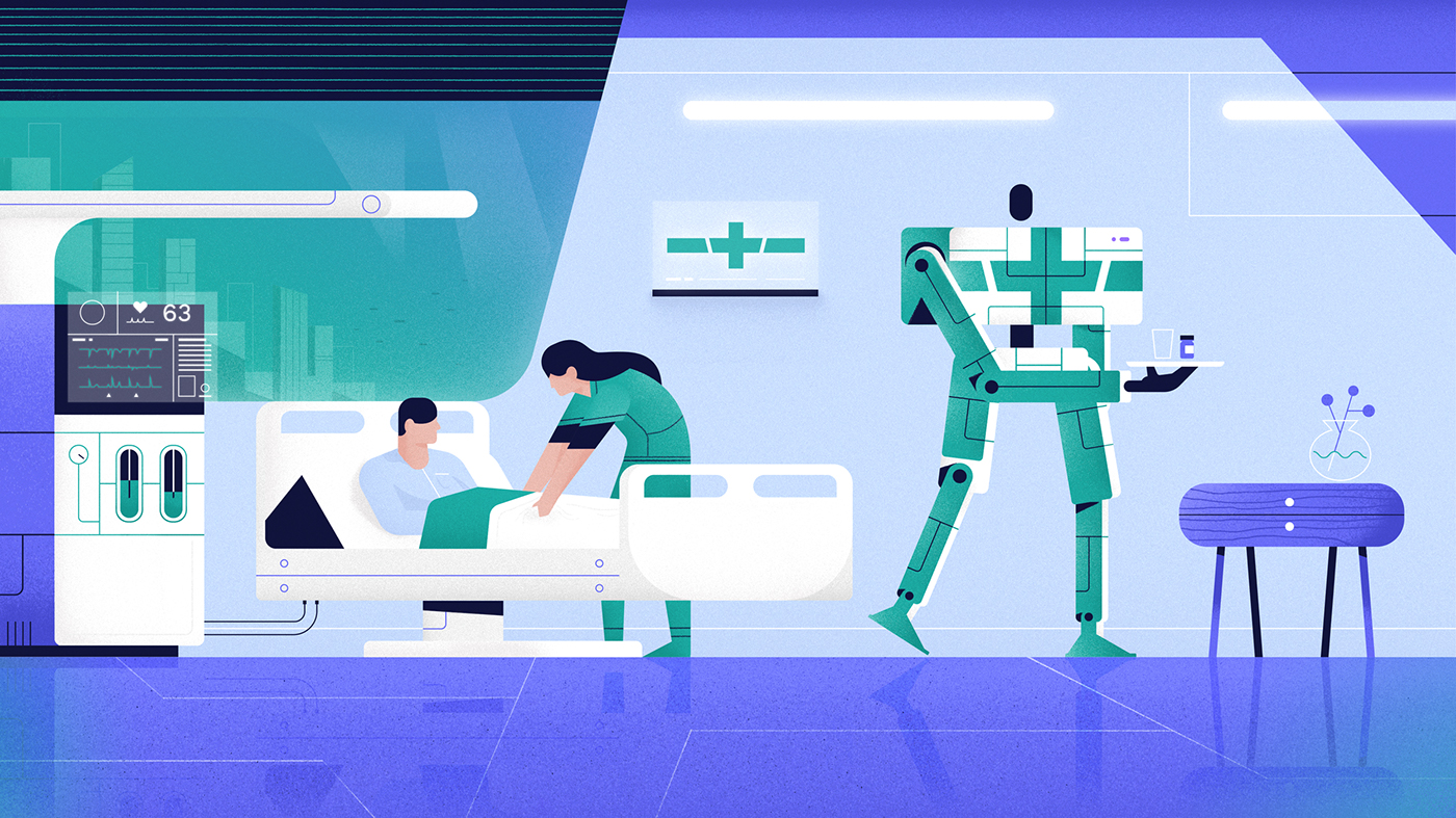 The Atlantic future robots futuristic inspiration process video Character
