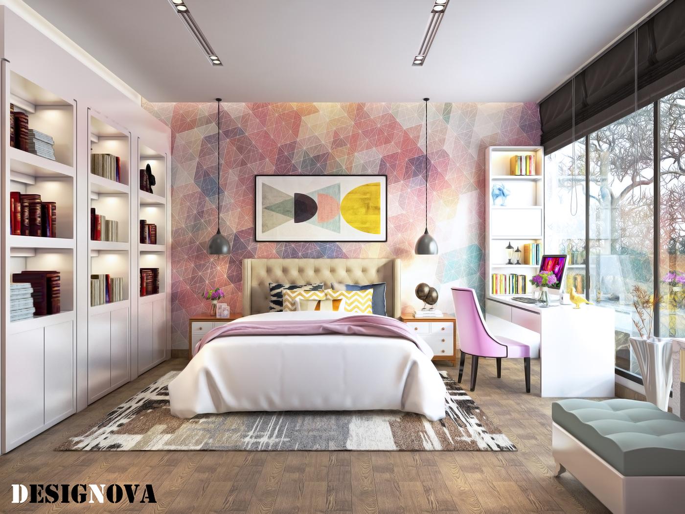 有創意感的44張臥室設計欣賞
