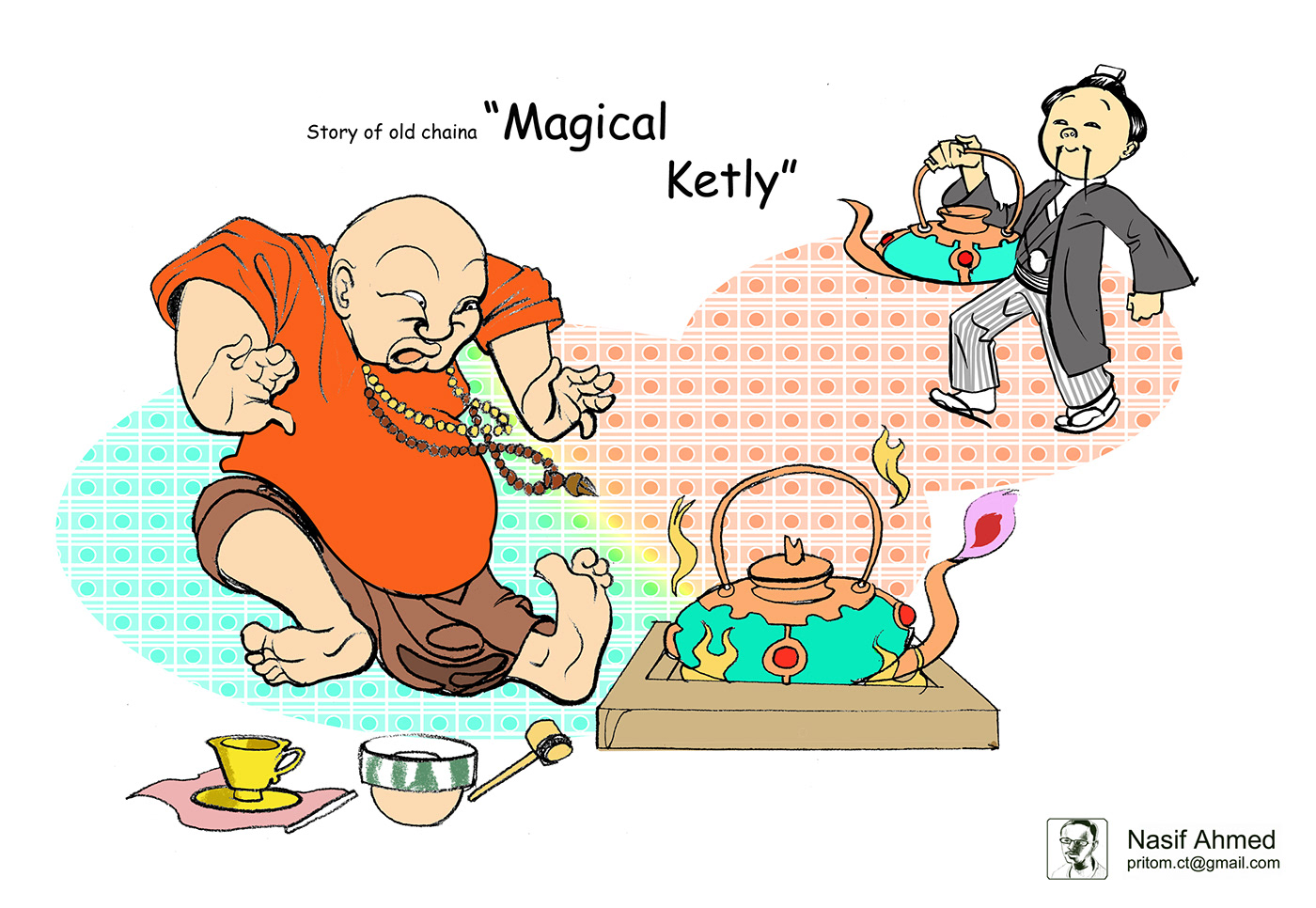 cartoon characterdesign The Daily Janakantha Jhilimili jankantha jonokontho