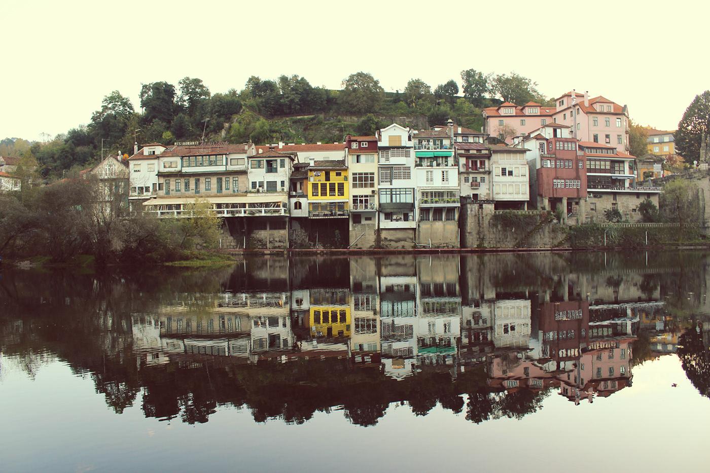 Portugal Amarante RioTamega Douro norte ponte historia barcos