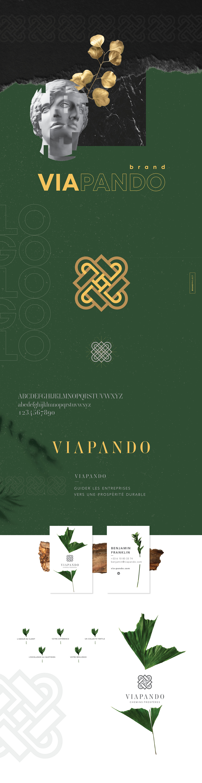 antique brand branding  Empire romain identité visuelle Latin premium roma