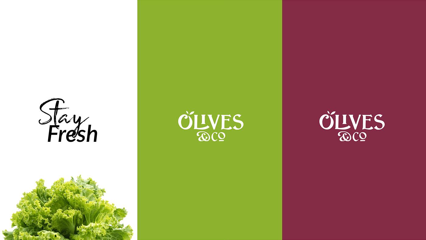 fresh green healthy olives and co salad vegetables vegeterian diet jar