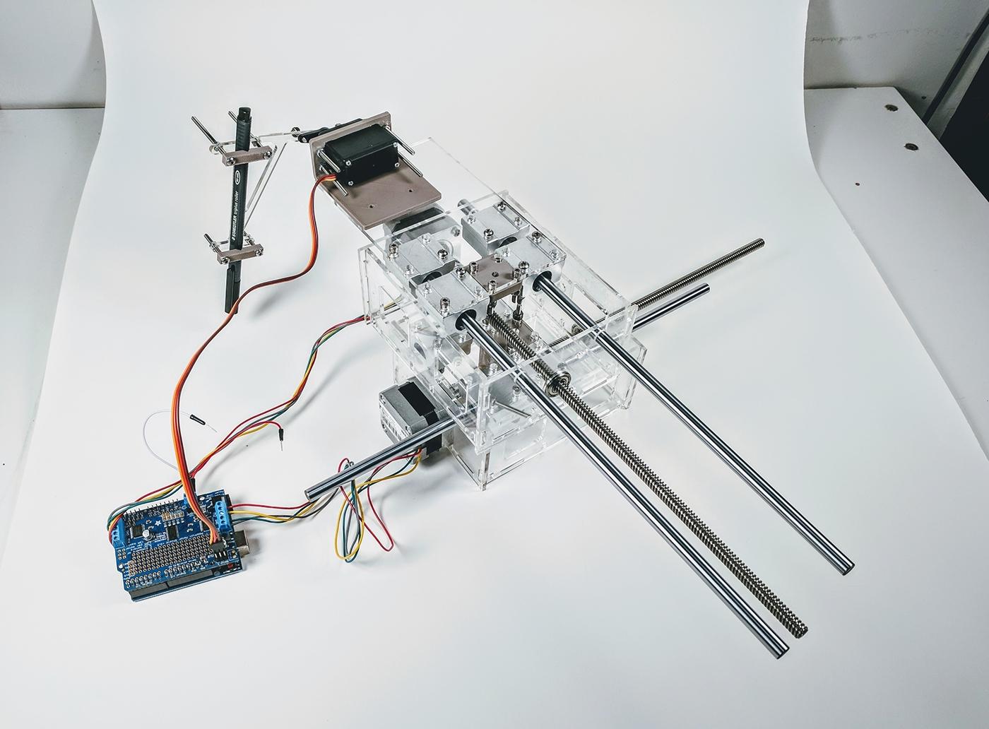 Drawing machine robot artist creative robotics robot machine Autonomous selfie selfie machine automated artist