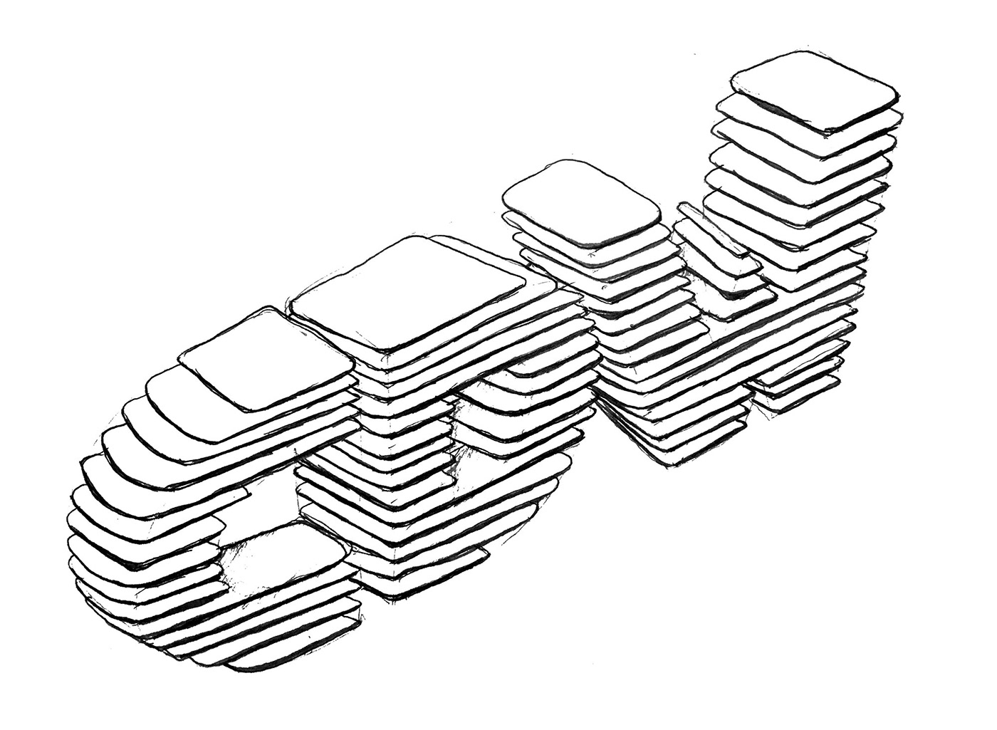 branding  graphic design  identity festival Moving Image grignani charles williams made up Isometric 3D