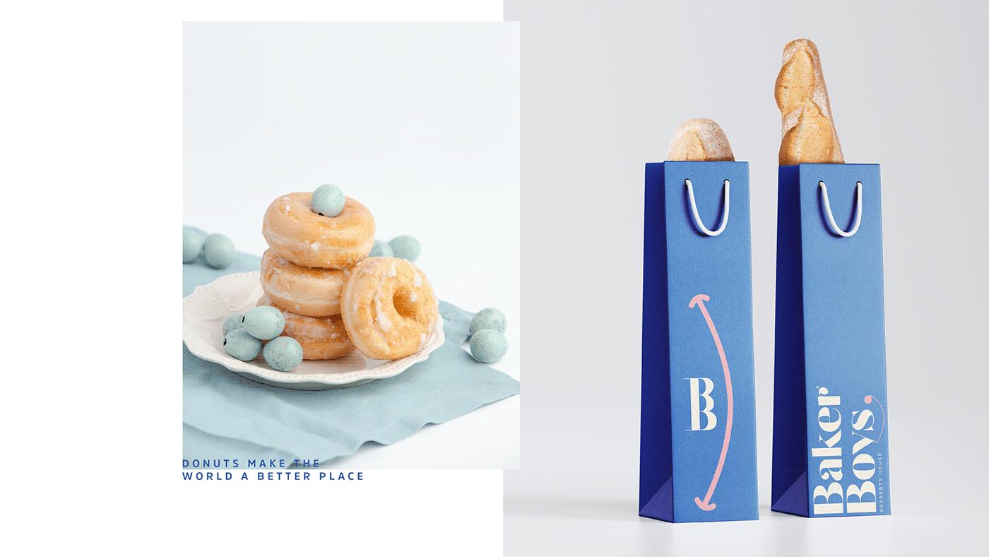 restaurant bakery yummy branding  motiongraphic blind support Visually impaired