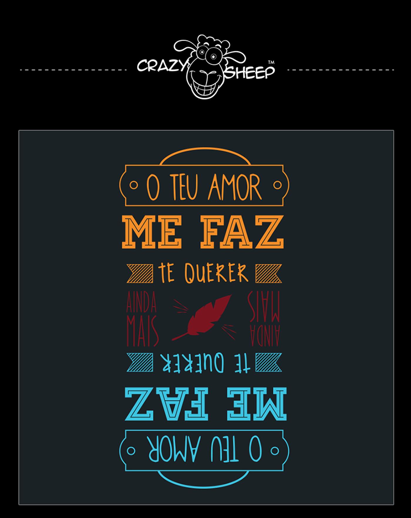 illustrations t-shirt camisetas moda Christian cristã gospel collections alltype tipografia crasy sheep crazysheep Ilustração Curitiba