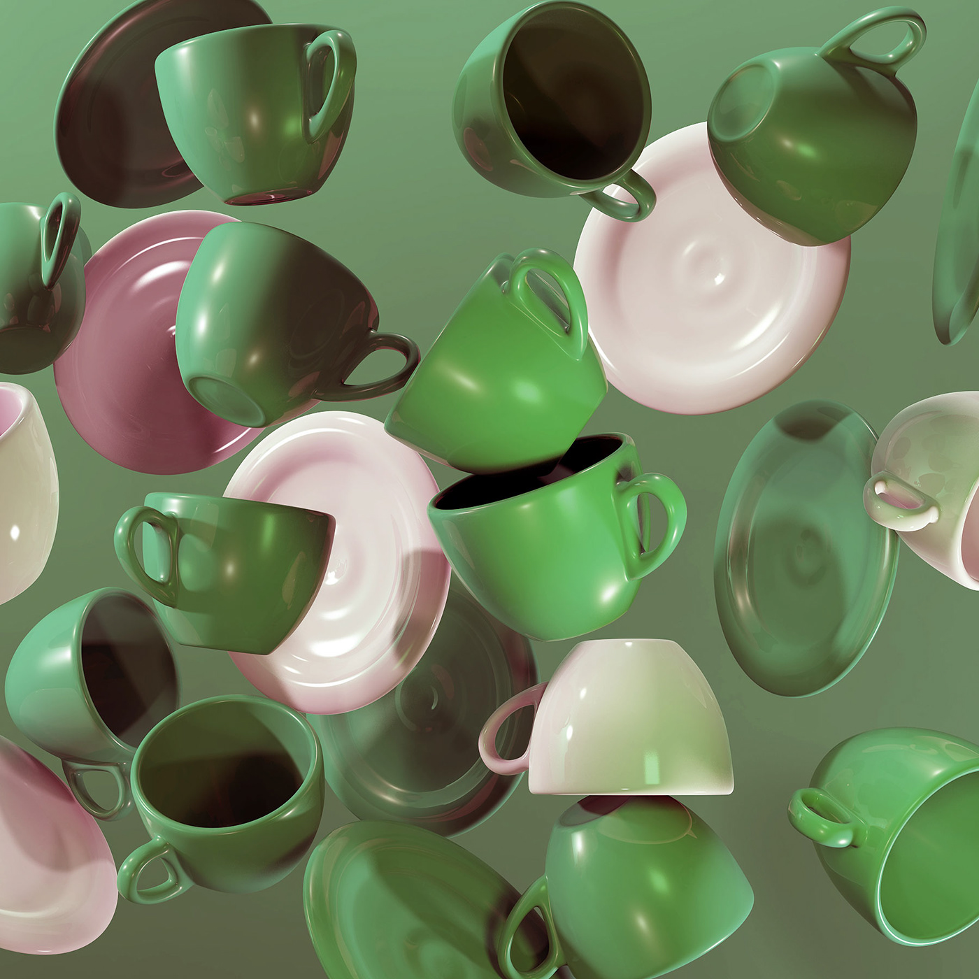 ceramics  hand made 3D art modeling sculpting  rendering latvian yelena yefimova clay
