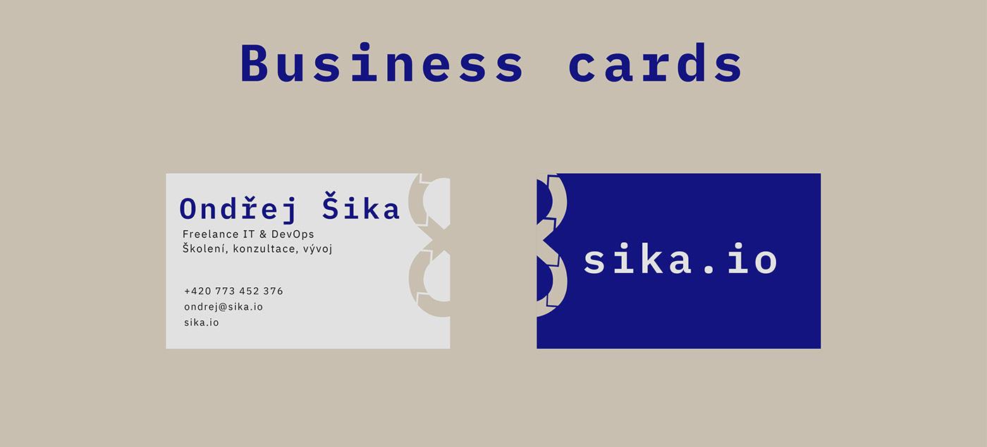brand devops graphic design  simple design visual identity