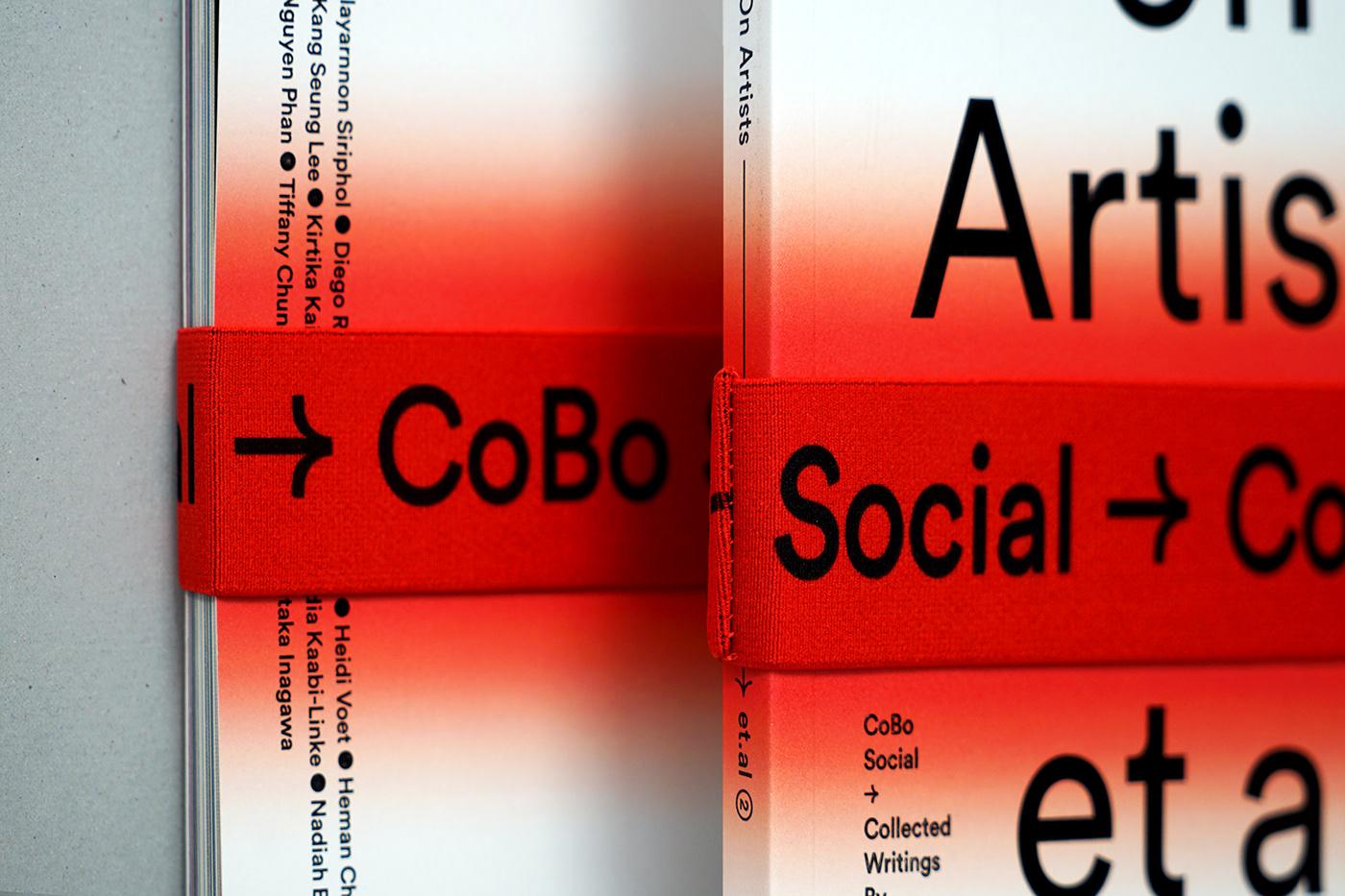 art artist book book band gradient Hong Kong Printing effect red
