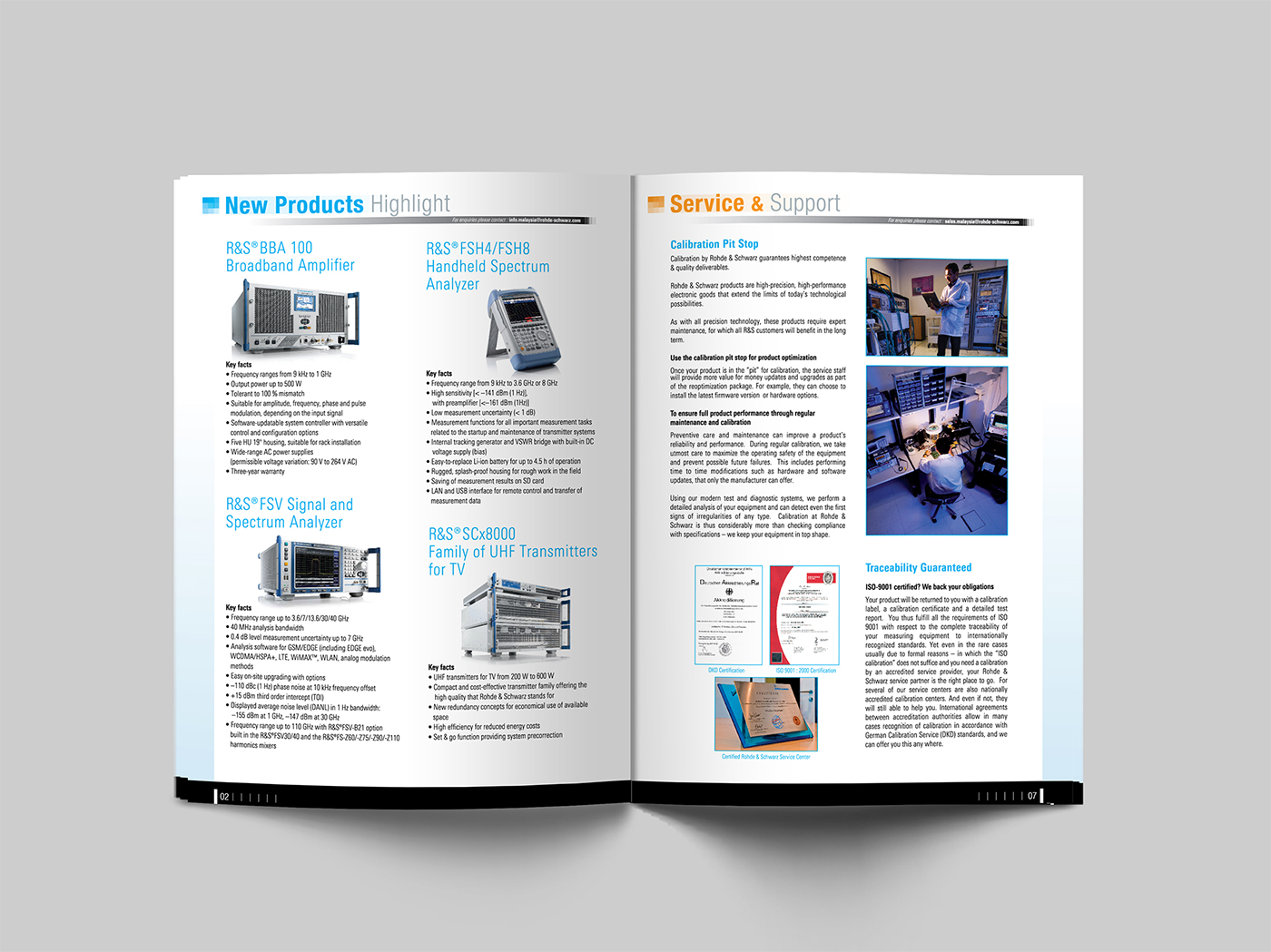 Rohde & Schwarz - Newsletter on Behance