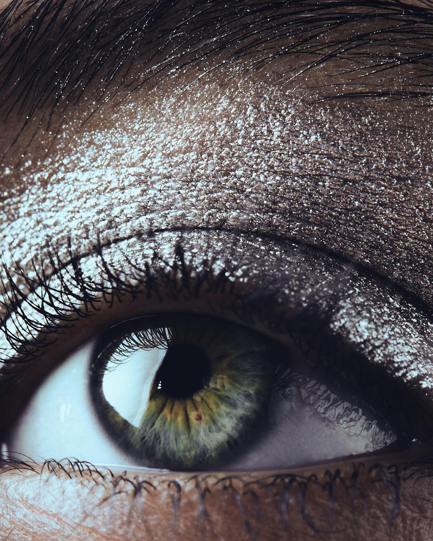 beauty BEAUTY PHOTOGRAPHER eyes glitters lips makeup model portrait skin