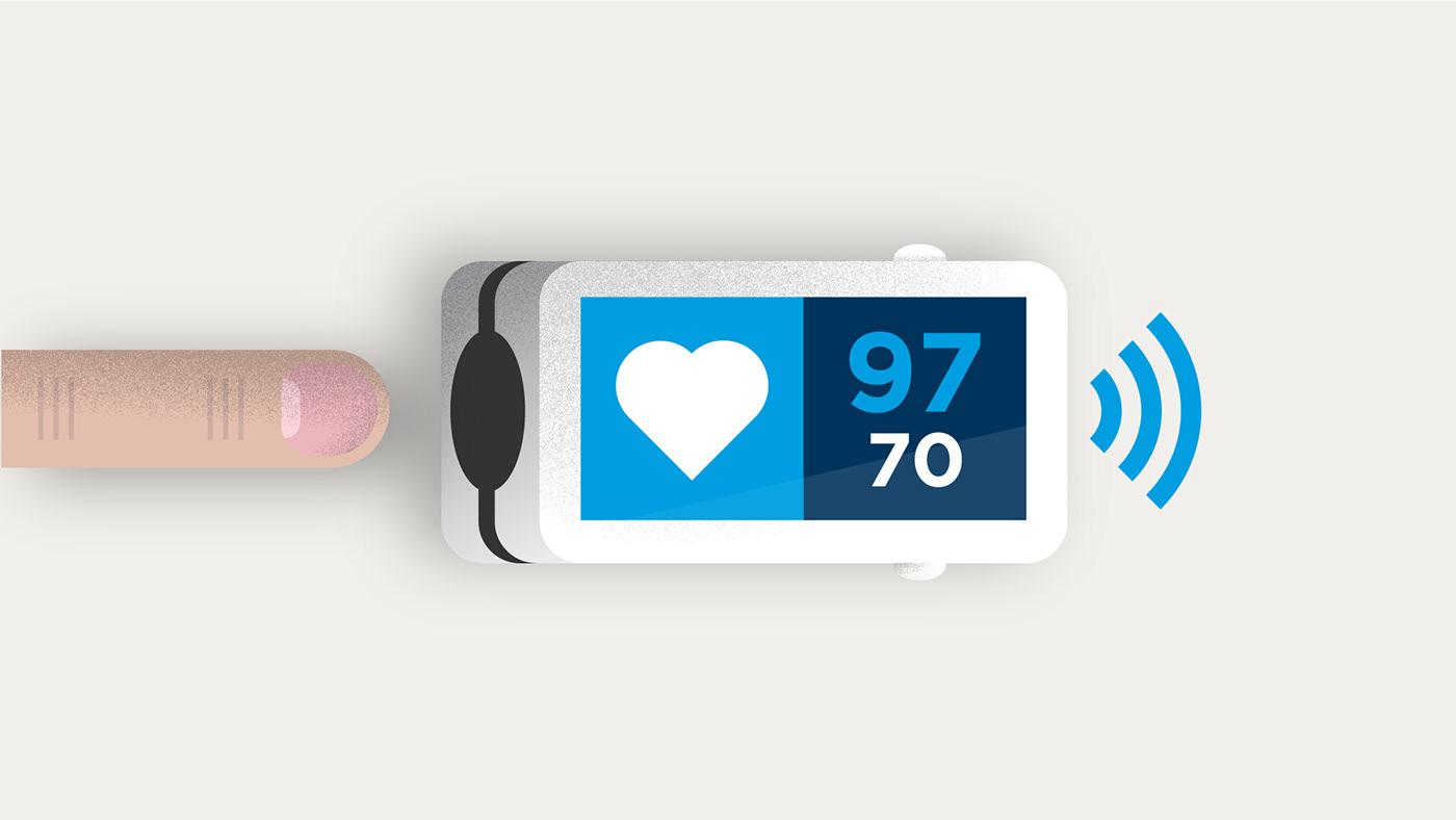 animacion animation  bupa Health Icon ilustration motion graphics  Picto salud sanitas