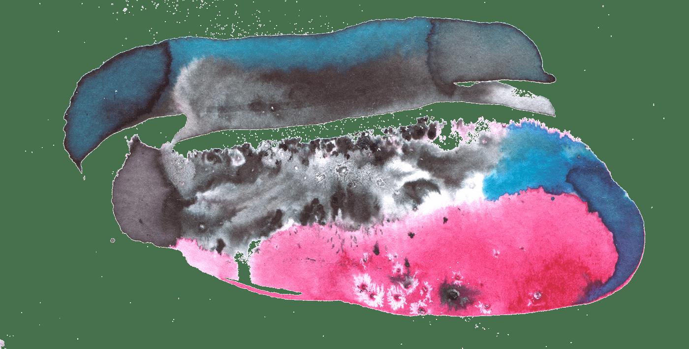 art blots graphic watercolor акварель графика иллюстрация кляксы креатив