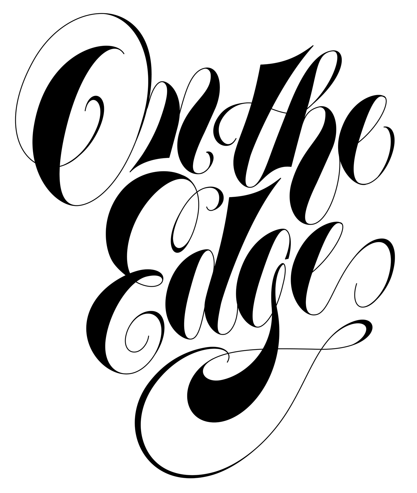 typography   lettering Retro old school vintage Calligraphy   groovy Display