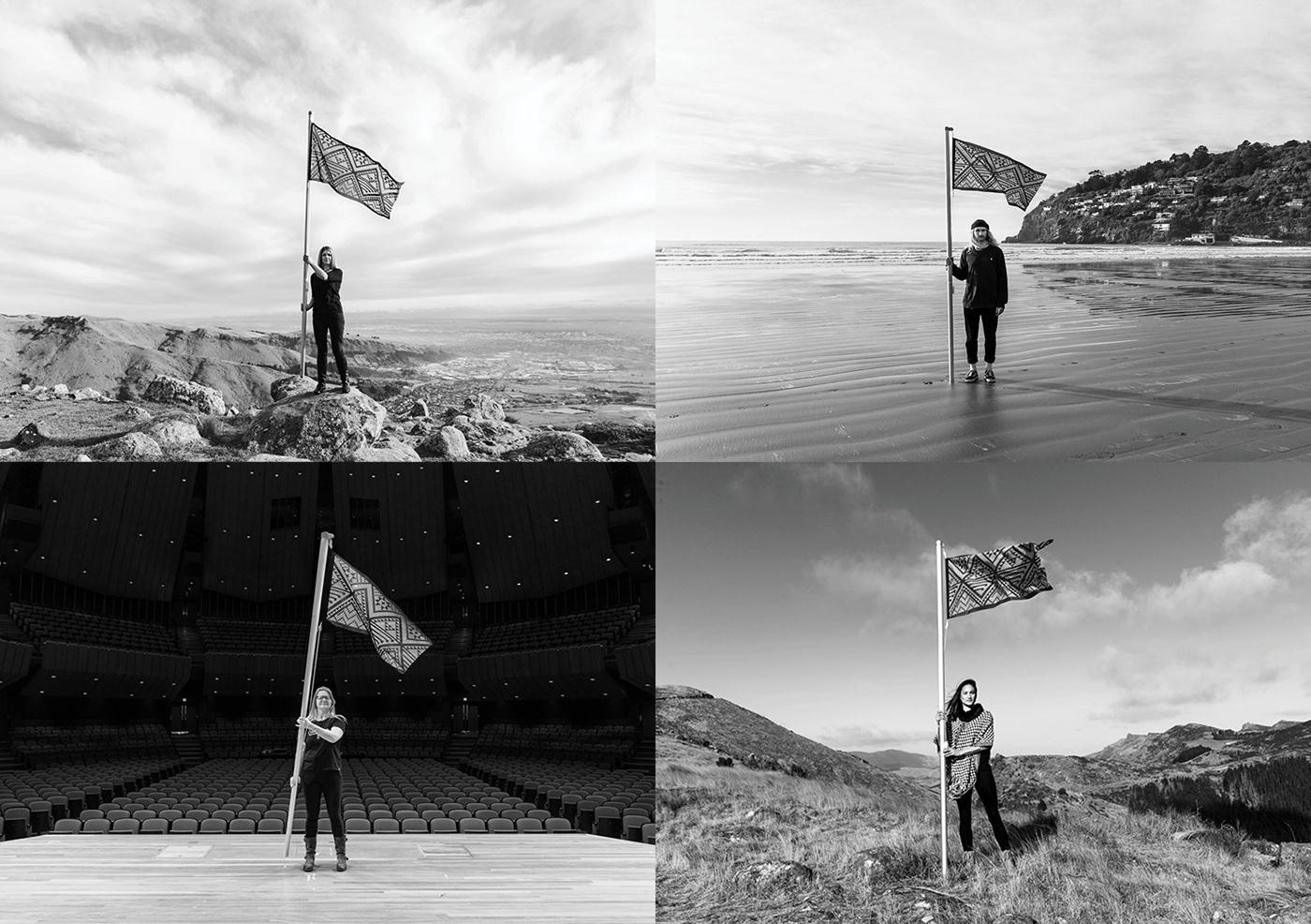 best awards flag graphic design  Photography  TEDx turangawaewae