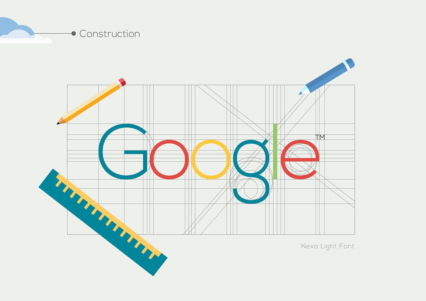google logo rebranding Style design graphic Project Illustrator mac Computer Internet print pantone color app