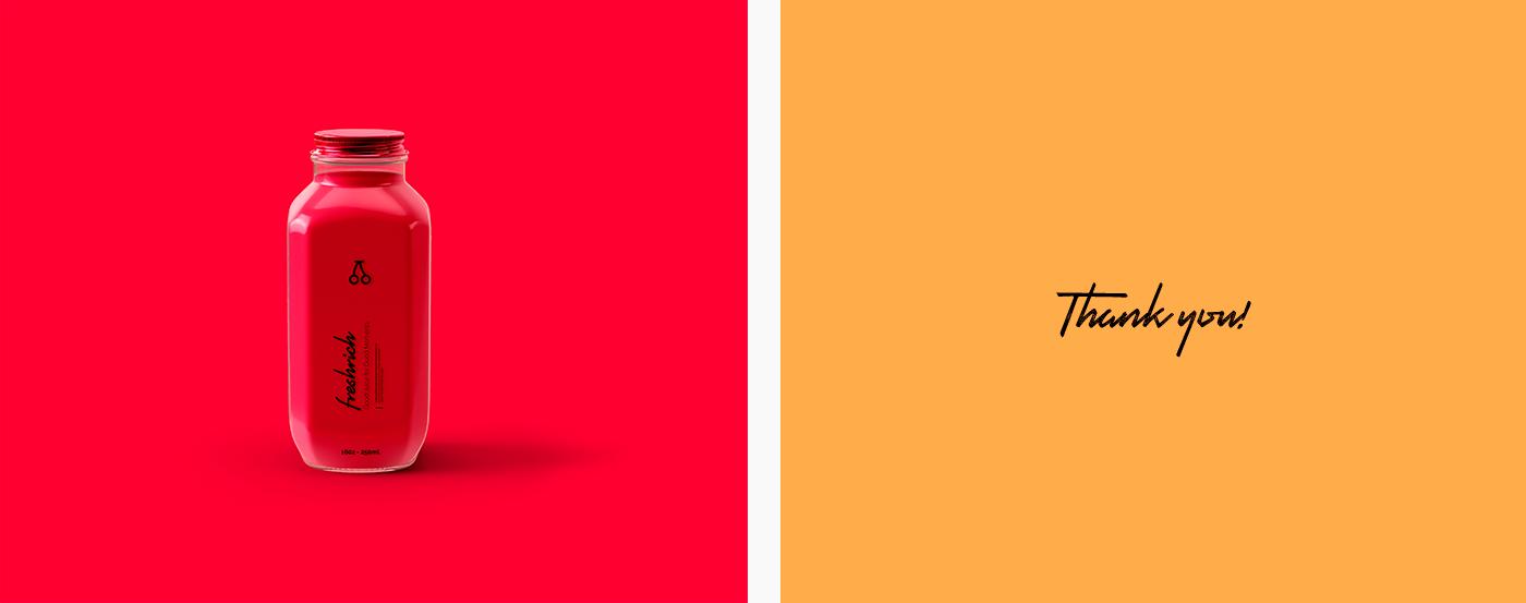 Packaging Pack logo Logotype fresh juice branding  tube brand orange