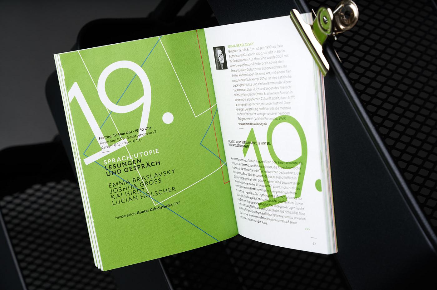 wirsindartisten branding  graphicdesign printdesign visualidentity