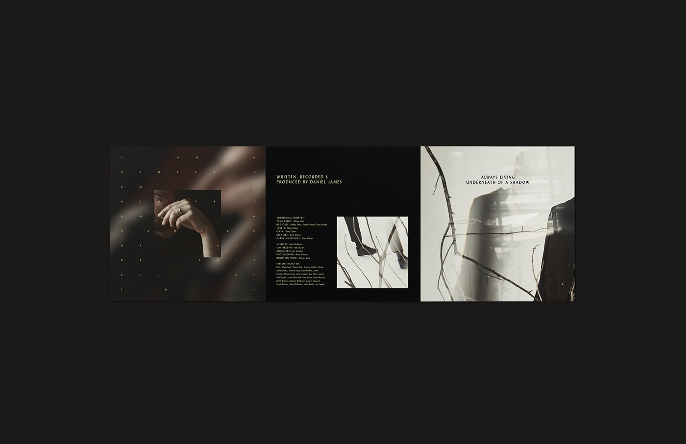 album art Packaging music vinyl brochure Photography  art direction  collage pamphlet typography