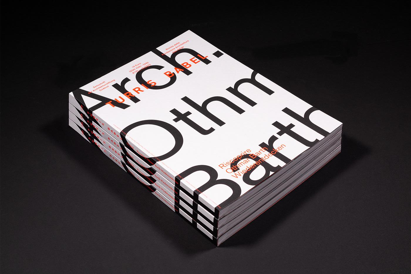 architecture design graphic design  Layout Megazine print typography