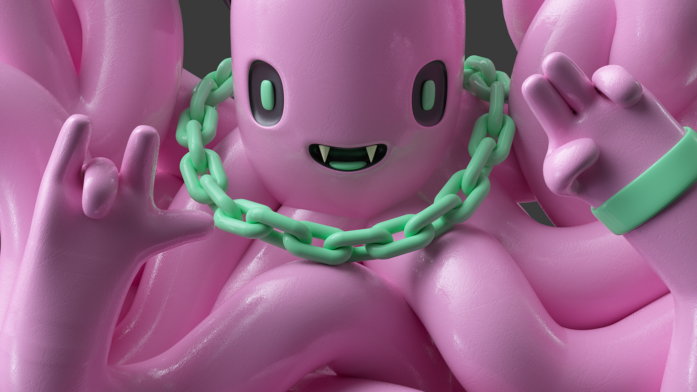 3D art toy avatar c4d Character cinema 4d design happymondaysforever sculpture vynil toy