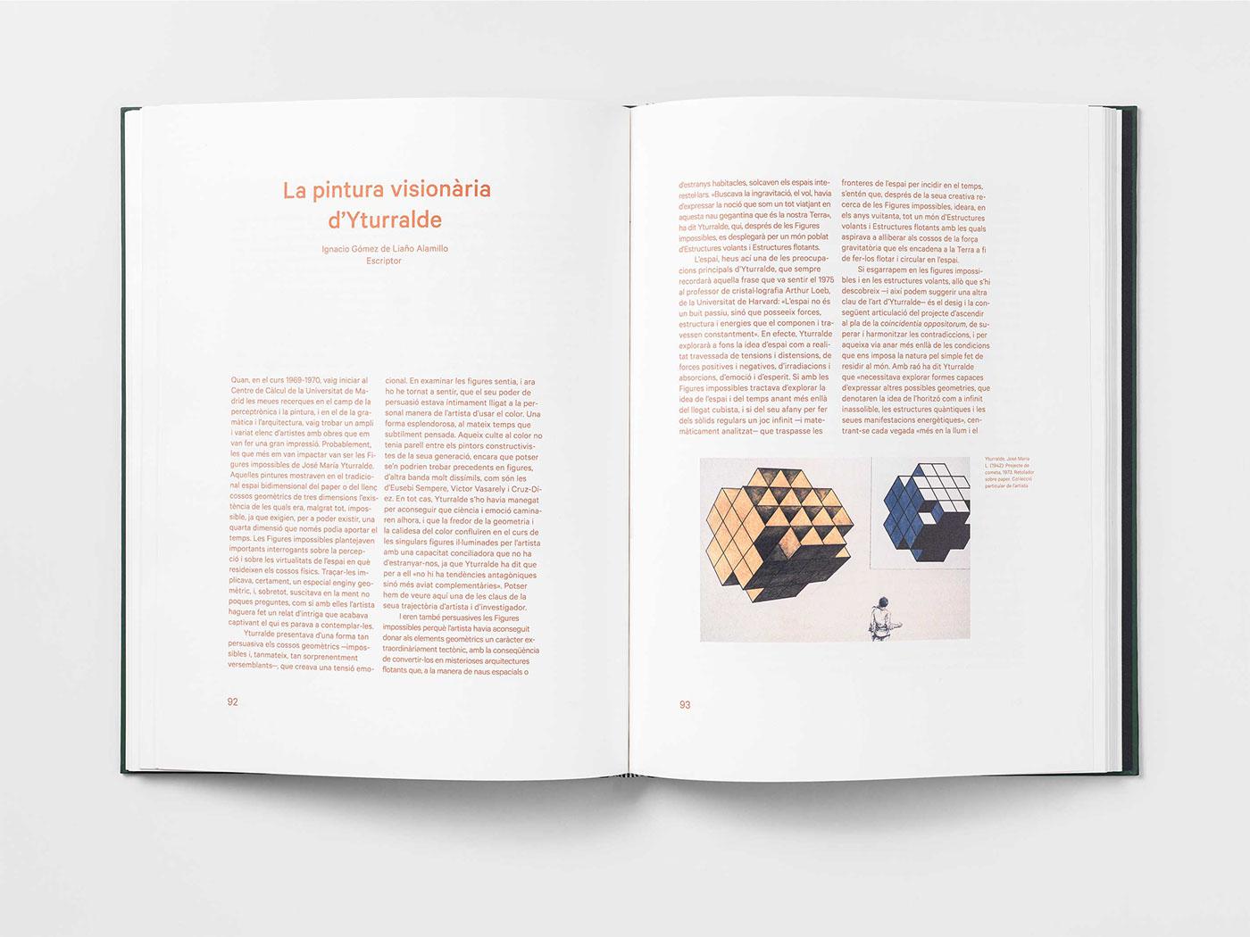 art catalog Exhibition  yturralde   valencia PUBLISHED
