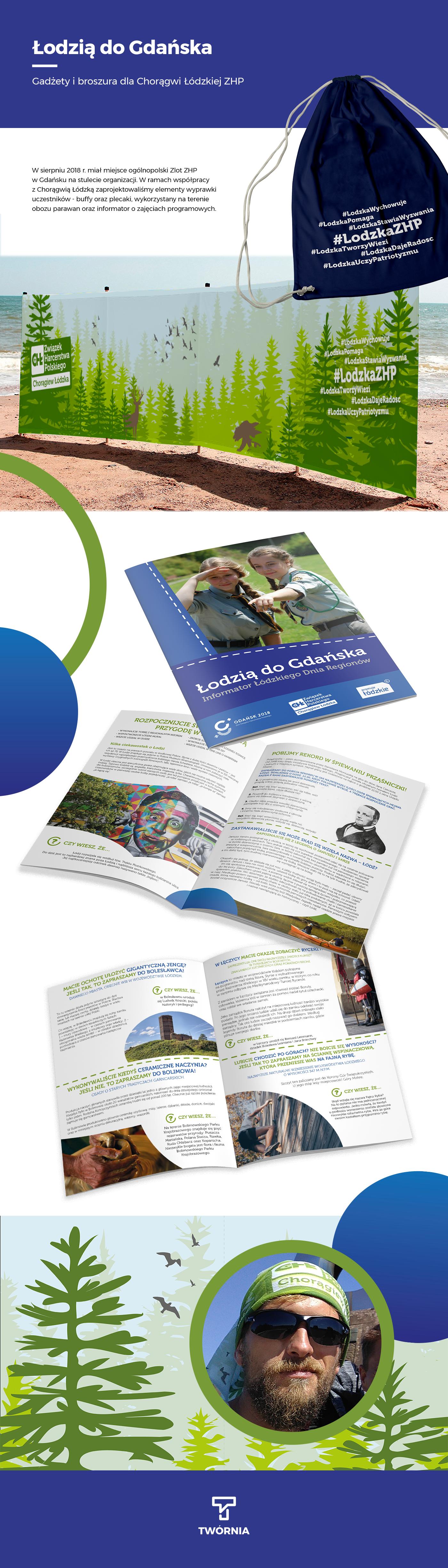 gadżety publikacje broszury informatory imprezy skład druku gadgets Publications